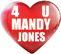 4 U Mandy Jones Logo